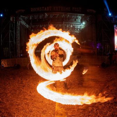 Hypnosis FireShow @ Rockstadt Extreme Fest 2018