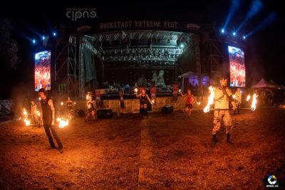 Hypnosis FireShow - 5 august 2018 - Rockstadt Extreme Fest, Râșnov