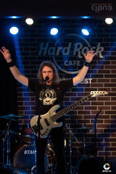 David Ellefson - 17 martie 2019 - Hard Rock Cafe, București